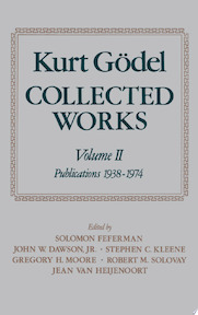 Kurt Gödel: Collected Works: Volume II Publications 1938-1974 - Kurt Gödel, Kurt Goedel, S. Feferman (ISBN 9780195039726)