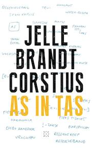 As in tas - Jelle Brandt Corstius (ISBN 9789082410631)