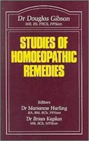Studies of Homoeopathic Remedies - D. M. Gibson (ISBN 9780906584170)