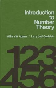 Introduction to number theory - William W. Adams, Larry Joel Goldstein (ISBN 9780134912820)