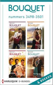 Bouquet e-bundel nummers 3498-3501 - Abby Green, Miranda Lee, Lynn Raye Harris, Chantelle Shaw, Sharon Kendrick, Caitlin Crews (ISBN 9789402501513)