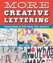 More Creative Lettering - Jenny Doh (ISBN 9781454708926)