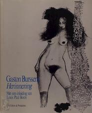 Herinnering - Gaston Burssens, Louis Paul [inl.] Boon (ISBN 9789029508292)