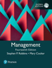 Management, Global Edition - Stephen P. Robbins, Mary A. Coulter (ISBN 9781292215839)
