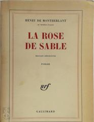 La Rose de sable - Henry de Montherlant (ISBN 9782070272198)
