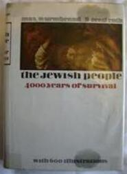 The Jewish people: 4000 years of survival - Max Wurmbrand, Cecil Roth (ISBN 0915361647)