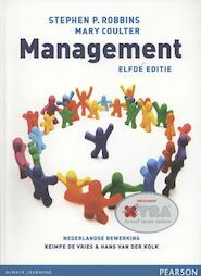 Management 11e editie - Stephen P. Robbins, Stephen Robbins, Mary Coulter (ISBN 9789043023467)