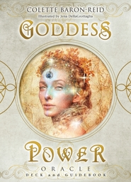 Goddess power oracle (deluxe keepsake edition) : deck and guidebook - colette baron-reid (ISBN 9781401956448)