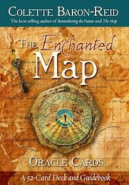 Enchanted Map Oracle Cards - colette baron-reid (ISBN 9781401927493)