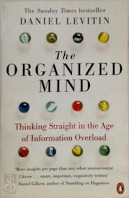 Organized Mind - Daniel Levitin (ISBN 9780241965788)