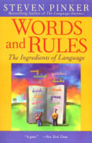 Words and Rules - Steven Pinker (ISBN 9780060958404)