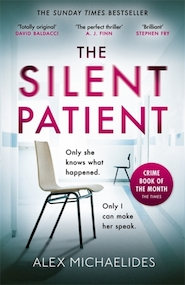 Silent patient - alex michaelides (ISBN 9781409181637)