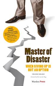 Master of Disaster - Frank Krake (ISBN 9789492004482)