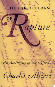 The Particulars of Rapture - Charles Altieri (ISBN 9780801488436)