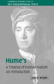 Hume's 'A Treatise of Human Nature' - John P. Wright (ISBN 9780521541589)
