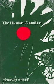 The human condition - Hannah Arendt (ISBN 9780226025933)