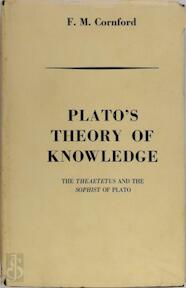 Plato's Theory of Knowledge - Plato (ISBN 9780710031198)
