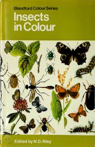Insects In Colour - N.D. Riley (ISBN 0713701447)