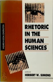 Rhetoric in the Human Sciences - Herbert W. Simons (ISBN 0803981791)