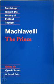 Machiavelli: The Prince - Quentin Skinner (ISBN 9780521349932)