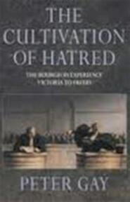 The cultivation of hatred - Peter Gay (ISBN 9780002552189)