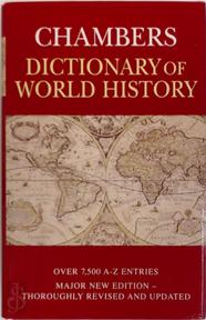 Chambers Dictionary of World History - Bruce Lenman, Trevor Anderson (ISBN 9780550130006)