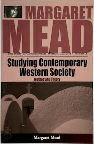 Studying Contemporary Western Society - Margaret Mead (ISBN 9781571818164)