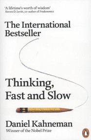 Thinking, Fast and Slow - Daniel Kahneman (ISBN 9780141033570)