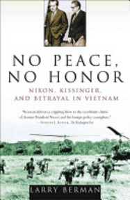 No Peace, No Honor - Larry Berman (ISBN 9780743223492)