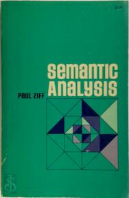 Semantic Analysis - Paul Ziff