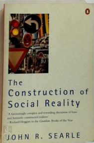 The construction of social reality - John R. Searle (ISBN 9780140235906)