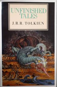Unfinished tales of Númenor and Middle-earth - J. R. R. Tolkien (ISBN 9780048232083)