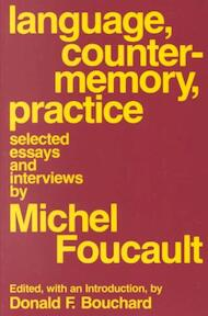 Language, Counter Memory, Practice - Michel Foucault (ISBN 9780801492044)