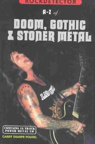Rockdetector A-Z of Doom, Gothic & Stoner Metal - Garry Sharpe-Young (ISBN 9781901447149)