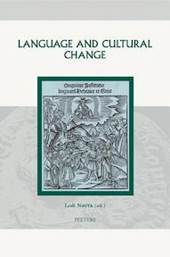 Language and cultural change - Lodi Nauta (ISBN 9789042917576)