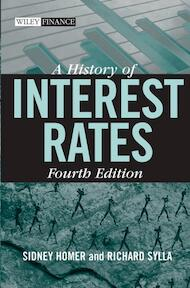 A History of Interest Rates - Sidney Homer (ISBN 9780471732839)