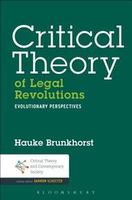 Critical Theory of Legal Revolutions - Hauke Brunkhorst (ISBN 9781623564186)