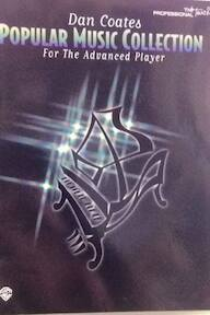 Dan Coates Popular Music Collection for the Advanced Player - Carol Cuellar (ISBN 9780897249386)
