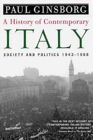 A History of Contemporary Italy - Paul Ginsborg (ISBN 9781403961532)