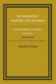 Philosophical Papers: Volume 1 - Hilary Putnam (ISBN 9780521295505)