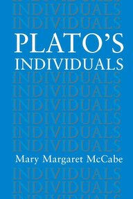 Plato`s Individuals - Mary Margaret Mccabe (ISBN 9780691029399)