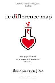 De difference map - Bernadette Jiwa (ISBN 9789089652300)