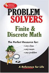 The Finite and Discrete Math Problem Solver - Research And Education Association (ISBN 9780878915590)