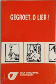 Timmermans jaarboek 20 gegroet o lier - Unknown (ISBN 9789030620457)