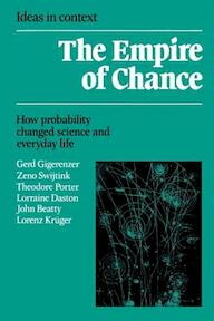 The Empire of Chance - Gerd Gigerenzer, Zeno Swijtink, Theodore Porter, Lorraine Daston (ISBN 9780521398381)