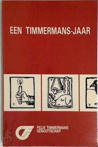 Honderd jaar felix timmermans - Unknown (ISBN 9789030615484)
