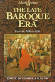 The late baroque era - George J. Buelow (ISBN 9780135299838)