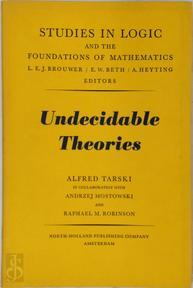 Undecidable Theories - Alfred Tarski (ISBN 0720422469)