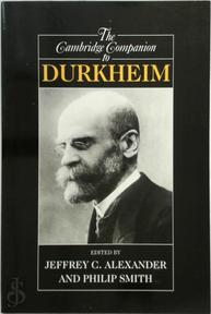 The Cambridge Companion to Durkheim - (ISBN 9780521001519)