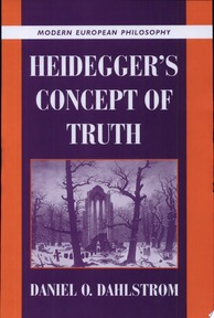 Heidegger's Concept of Truth - Daniel O. Dahlstrom (ISBN 9780521643177)